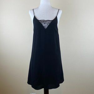 Aritzia Wilfred Free Lace Mini Dress